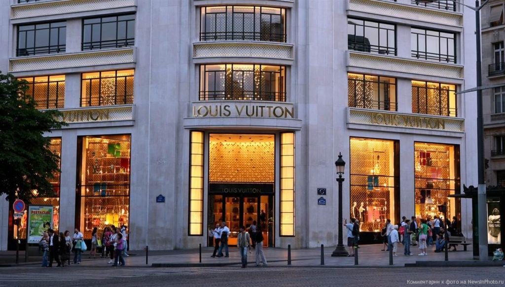 магазины косметики Франции